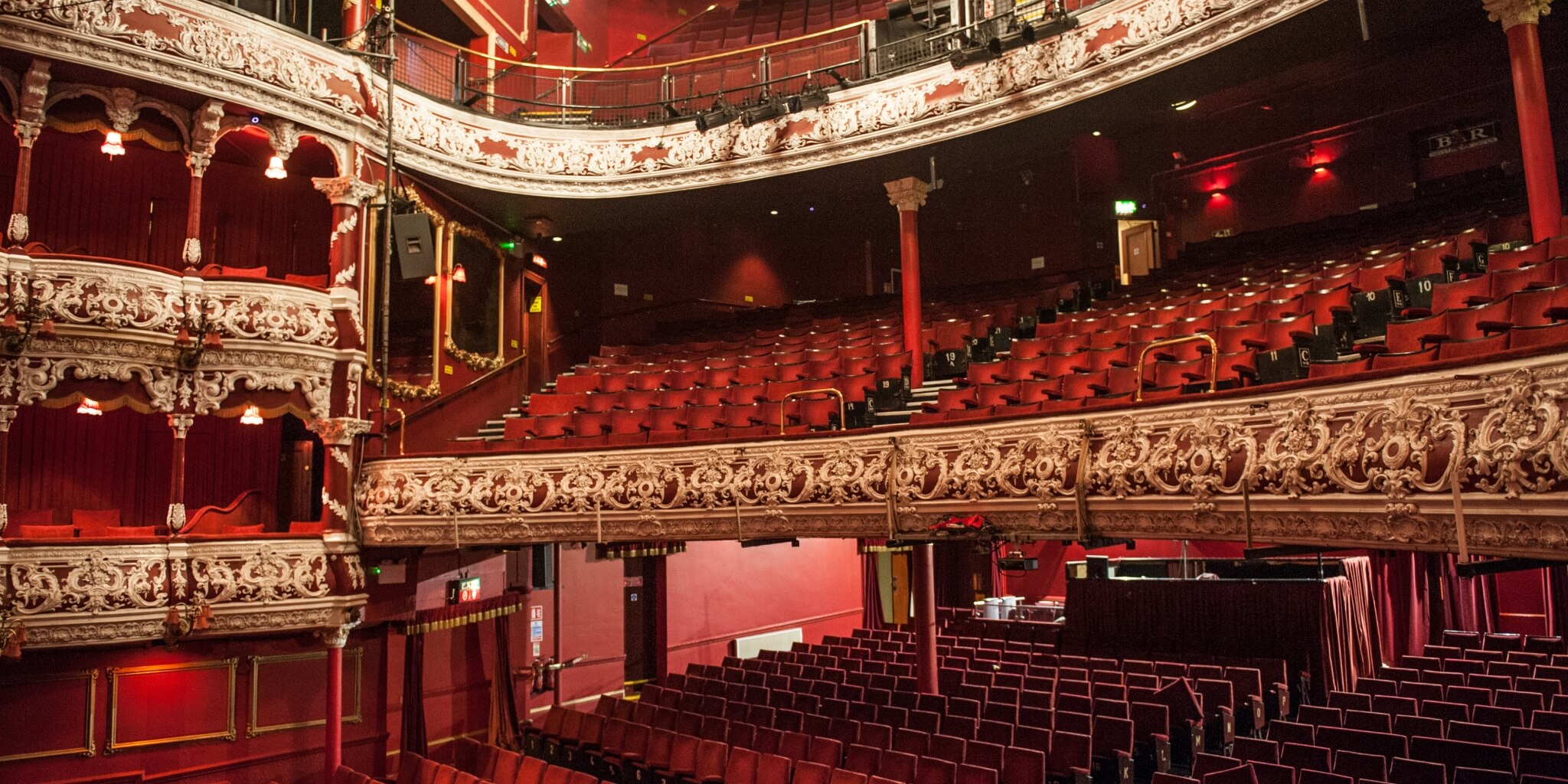 The Gaiety Seating Plan Gaiety Main Auditorium The
